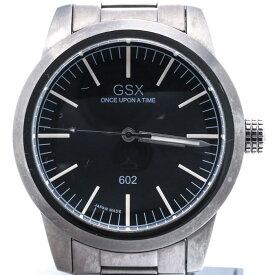 ジーエスエックス 【GSX】 GSX602GBK UNDERSEA SPECIAL OPERATION 腕時計 時計 グレー GRAY ブラック BLACK SS 【中古】