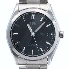 ジーエスエックス 【GSX】 GSX102RPD-1 / BIOHAZARD 「0823」 バイオハザード 限定 腕時計 時計 シルバー SILVER ブラック BLACK SS 【中古】