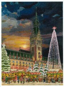 アドベントカレンダー ドイツ製 クリスマス クリスマスイブ カレンダー カウントダウン ギフト ドイツ ハンブルグ 可愛い イベント インテリア カレンダー おもちゃ サンタ プレゼント 子