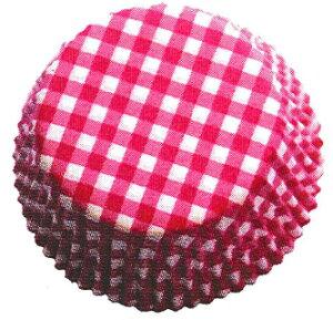 ドイツ製 ラグジュアリー ベーキングカップ マフィン用 おかず入れ  直径:50mm ×高さ:25mm 60枚x3パック 180枚 プレイド ピンク