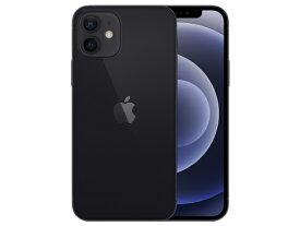 【国内版SIMフリー・未開封】アップル Apple iPhone 12 64GB ブラック 白ロム SIMロック解除済品 スマホ本体 5G対応