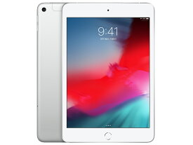 【新品未開封】【SIMフリー】【第5世代】iPad mini 5 セルラー Wi-Fi+Cellular 64GB シルバー MUX62J/A A2124 SIMフリー SIMロック解除済