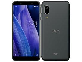 [SIMフリー][新品未使用品] AQUOS sense3 basic SHV48 [ブラック] au/UQ から SIMロック解除済 白ロム スマホ 本体 docomo回線使用可