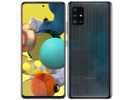 [新品未使用品/国内版SIMフリー] Galaxy A51 5G SCG07 プリズム ブリックス ブラック [AUからSIMロック解除済] スマホ 本体 判定〇[サムソン/Samsung]