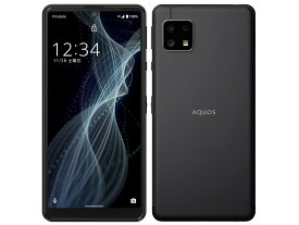 [SIMフリー][新品未使用品] AQUOS sense4 basic A003SH [ブラック] ワイモバイルからSIMロック解除済 白ロム スマホ 本体 AU/docomo/softbank回線使用可