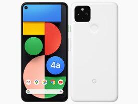 Google Pixel 4a 5G対応 128GB 国内版SIMフリー 本体 G025H 新品未使用 正規SIMロック解除済み Clearly White クリアホワイト 白ロム