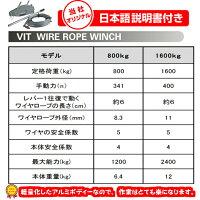 ハンドウインチ万能携帯ウインチレバーホイストチルホール800kg高品質よろこびのお値段で半年保証