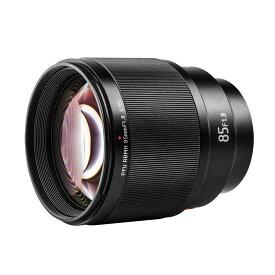 Viltrox 85mm F1.8単焦点中望遠レンズ 富士フイルム Xマウント STM オートフォーカス 瞳AF対応 F1.8大口径 手ぶれ補正 交換レンズ ポートレート X-T3 X-T2 X-T30 X-T20 X-T10 X-T100 X-PRO2 X-E3 X-A20 X-A5適用