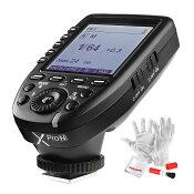【正規品】GODOXXpro-N送信機TTL2.4Gワイヤレスフラッシュトリガー高速同期1/8000sXシステムNikon一眼レフカメラ対応技適マーク付き