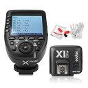 【正規品】GODOX Xpro-C送信機+Godox TTL X1R-C受信機  TTL2.4Gワイヤレスフラッシュトリガー 高速同期 1 / 8000s Xシステム Canon一…