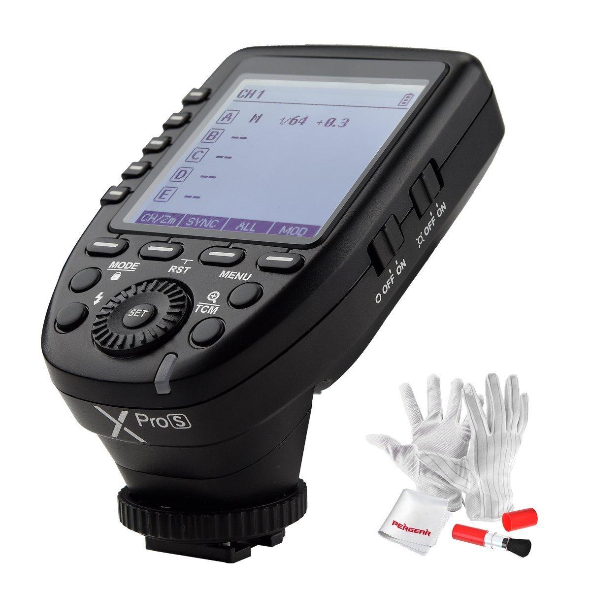 【PDF日本語説明書&正規品】GODOX Xpro-S送信機 TTL2.4Gワイヤレスフラッシュトリガー 高速同期 1 / 8000s Xシステム Sony一眼レフカメラ対応 技適マーク付き