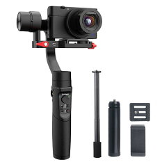「PDF日本語説明書あり」HohemiSteadyMultiスタビライザー3軸ジンバルスマートフォン/アクションカメラ/コンパクトカメラに対応600°回転App制御Sonyカメラに最適