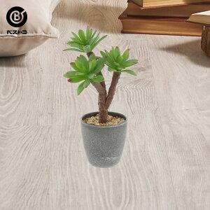 フェイク PCポットグリーン ラウンドグレー 2   観葉植物 壁掛け 壁かけ フェイク ミニ 人工観葉植物 造花 多肉植物 小さい インテリアグリーン おしゃれ プレゼント ギフト コンパクト セッ