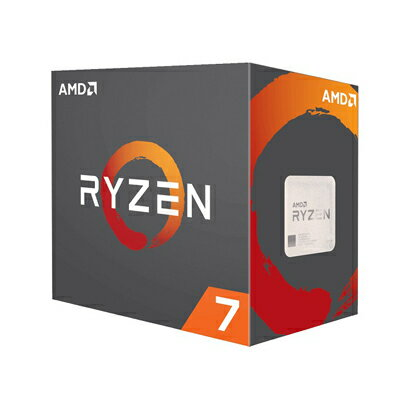 ◇在庫限り終了!AM4【AMD】Ryzen 7 1700X YD170XBCAEWOF (3.8GHz)