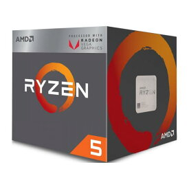 ◇AM4【AMD】Ryzen 5 2400G with Wraith Stealth cooler YD2400C5FBBOX