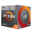 ◇【AMD】Ryzen 5 3400G with Wraith Spire cooler YD3400C5FHBOX
