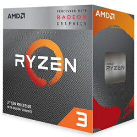 ◇在庫のみ特価です。AM4【AMD】Ryzen 3 3200G with Wraith Stealth cooler YD3200C5FHBOX