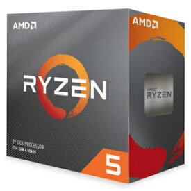 ◇【AMD】Ryzen 5 3600 with Wraith Stealth cooler 100-100000031BOX