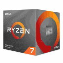 ◇【AMD】Ryzen 7 3700X with Wraith Prism cooler 100-100000071BOX