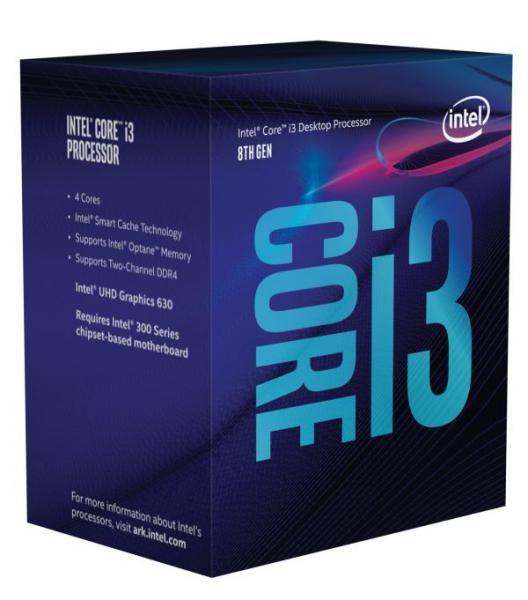 ◆お一人様1個の限定価格となります。【Intel】Core i3-8100 Box 3.6GHz BX80684I38100
