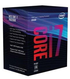 ◆お一人様1個の限定価格となります。【Intel】Core i7-8700 Box 3.2GHz BX80684I78700