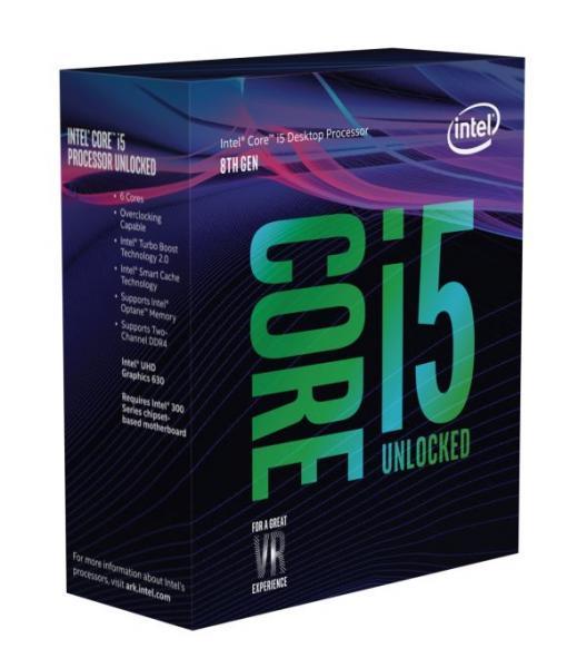 ◆お一人様1個の限定価格となります。【Intel】Core i5-8600K Box 3.6GHz BX80684I58600K