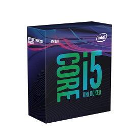 ◆在庫特価!お一人様1個の限定価格となります。【Intel】Corei5-9600K Box 6C/6TH 3.70GHz BX80684I59600K