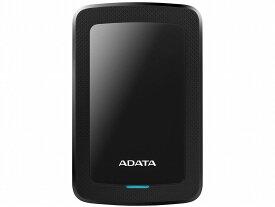 ◆衝撃センサー付/USB3.0/USB3.1両対応/外付ポータブルUSB接続!【ADATA】AHV300-4TU31-CBK