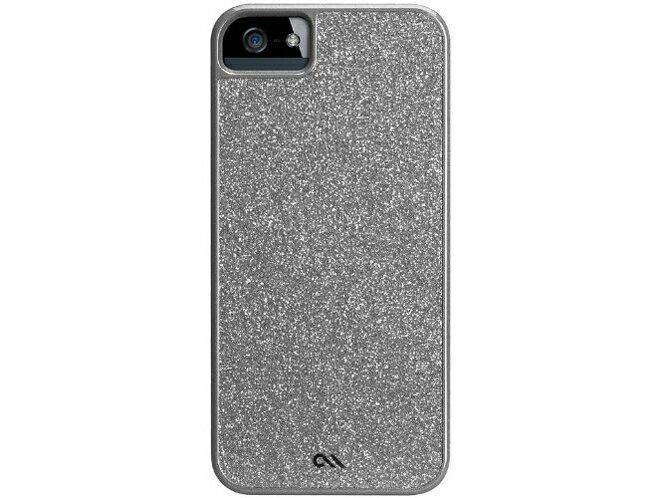 ◆○iPhone5薄型ハードケース グラム シルバー【ケースメイト(CASE-MATE)】CM022460 [Silver]