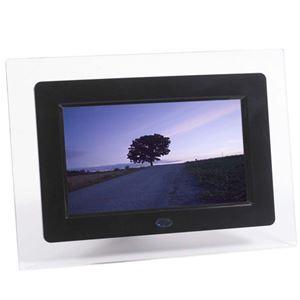 ◆7インチ静止画&動画機能/MP3対応USB&SDスロットガード搭載【ITPROTECH】IPT-DF70-BK