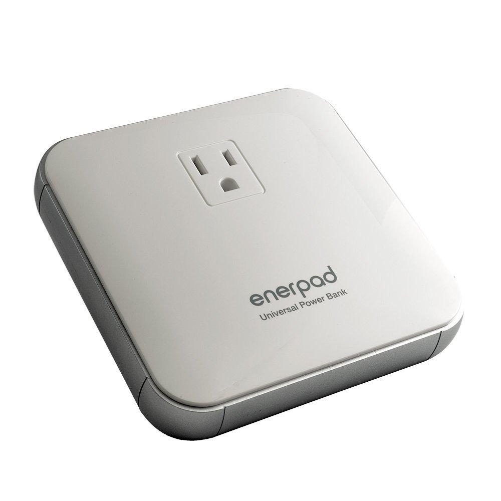◆ACプラグ対応/タブレットやノートPCの充電に最適な12000mAhモバイルバッテリー【リンクス】AP-12K-W