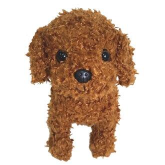 토이 푸 들 인형 레드 차 (베스트에 버 귀여운 강아지 인형 생일 선물 선물 Premium Puppy)
