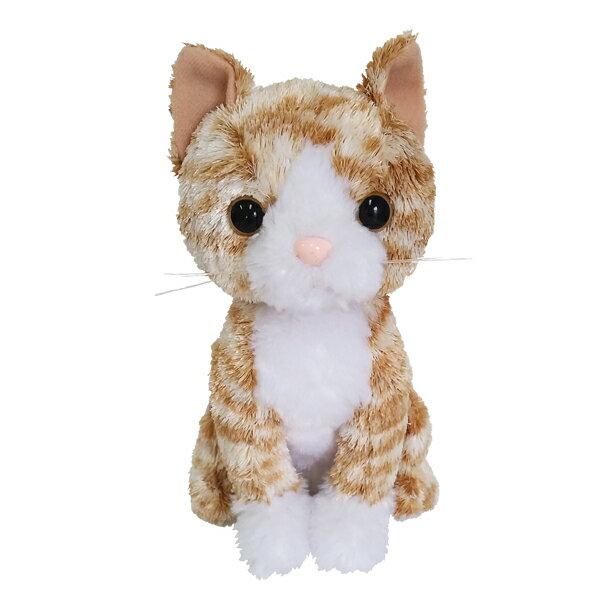 猫のぬいぐるみ|プレミアムキティ チャトラ 【 猫雑貨 リアルでかわいいネコ ぬいぐるみ トラ猫 茶トラ 】