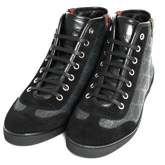 """""""♦""""Gucci 古奇 GG 图案妇女运动鞋尼禄 (黑色) 296568 F2AV0 1092"""