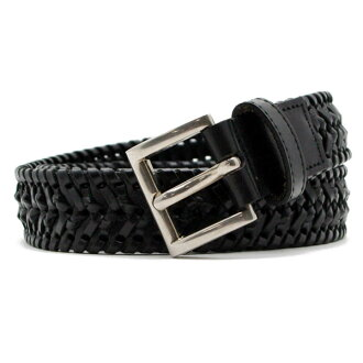 -Decrease-Prada PRADA mens leather belt NERO (black) 2C5952 2 A7P 002