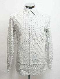 『セール SALE』プラダ PRADA【POPELINE GEOMET】メンズ ドレスシャツ ワイシャツNEROUCM473 1EO5 002【送料無料】 【あす楽対応】 【コンビニ受取】 【ロッカー受取】 【国際配送】