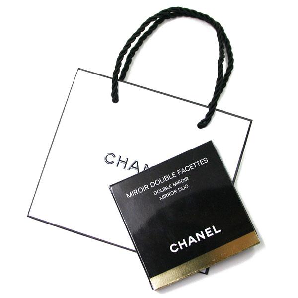 『セール SALE』シャネル CHANEL コンパクト ダブルミラー 手鏡 BLACK (ブラック)CHANEL ギフト ペーパーバッグ付きミロワールドゥーブルファセット137500【あす楽対応】【人気アイテム】