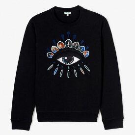 『セール SALE』ケンゾー KENZOメンズ スウェット トレーナー Indonesian Flower Eye sweatshirt Noir (ブラック) F865SW0924XK 99【送料無料】 【あす楽対応】 【コンビニ受取】 【ロッカー受取】 【国際配送】