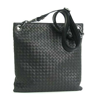 BOTTEGA VENETA Bottega Veneta diagonally over shoulder bag intrecciato black 161623 V465C1000