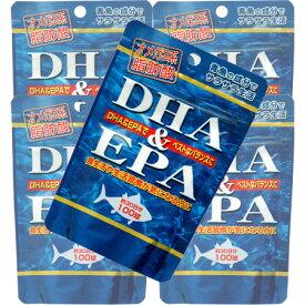 DHA(ドコサヘキサエン酸)&EPA(エイコサペンタエン酸) 【5個セット】【お取り寄せ】(4524326201171-5)