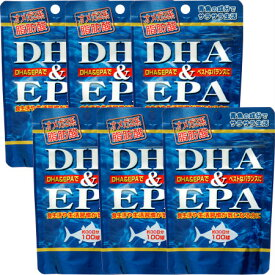 DHA(ドコサヘキサエン酸)&EPA(エイコサペンタエン酸) 【6個セット】【お取り寄せ】(4524326201171-6)