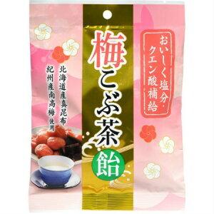 うすき製薬 梅こぶ茶飴 72g 【5個セット】【メール便】【お取り寄せ】(4987023930353-5)