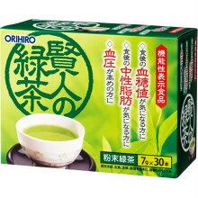 オリヒロ【機能性表示】賢人の緑茶30本(4571157252148)