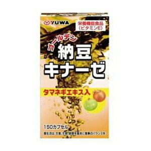 ユーワ ゴールデン納豆キナーゼ(150カプセル)【お取り寄せ】(4960867000697)