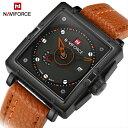 【送料無料・税込み】NAVIFORCE TB-370113 腕時計 お洒落 日本製クオーツ メンズ 重厚 高級 クール 流行 カレンダー Quartz