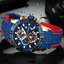 【送料無料・税込み】MINI FOCUS TB-9103-9108 腕時計 お洒落 クオーツ メンズ ラバー 高級 クール 流行 カレンダー ストップウォッチ Quartz