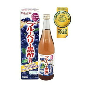 【送料無料】井藤漢方製薬 ブルーベリー黒酢飲料 720ml×12本セット