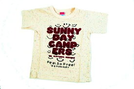 SALE セール メール便限定送料無料OIL オイル キッズ 100cm 120cmSUNNY DAY CAMPERE TシャツOIL CLOTHING SERVICE 子供服