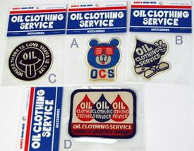 OIL オイル アイロンワッペン OIL CLOTHING SERVICE 子供服【コンビニ受取対応商品】