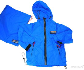 100cm OIL オイル キッズ 100cm-140cm 巾着付 ナイロンパーカージャケットOIL CLOTHING SERVICE 子供服【コンビニ受取対応商品】